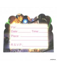 Προσκλήσεις Star Wars