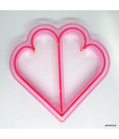 Φόρμα Τοστ Καρδιά