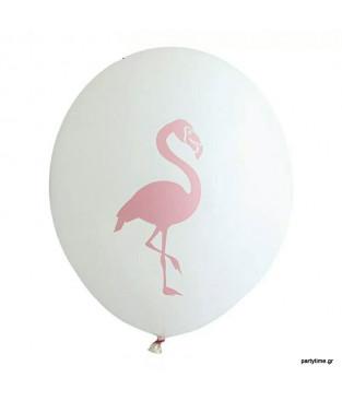 Λευκό μπαλόνι φλαμίνγκο