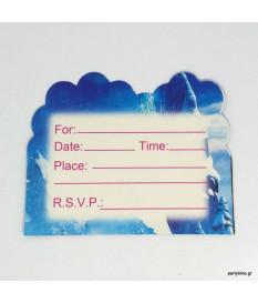 Προσκλήσεις Frozen