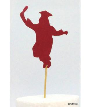 Τόπερ Απόφοιτησης Κόκκινο