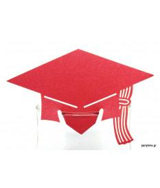 Αποφοίτηση Κόκκινη για Ποτήρι