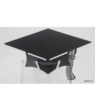 Αποφοίτηση Μαύρη για Ποτήρι
