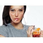 Καλαμάκια-Γυαλιά