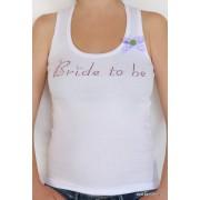 Λευκό Bride to be