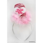 Ροζ μίνι καπέλο