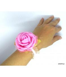 Κορσάζ ροζ