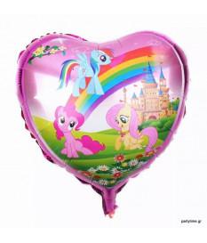Μπαλόνι Καρδιά Πόνυ