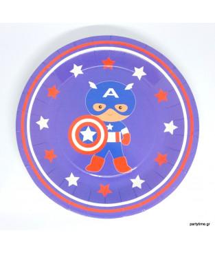Πιάτα Captain America