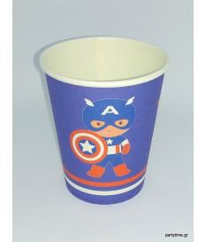 Ποτηράκια Captain America