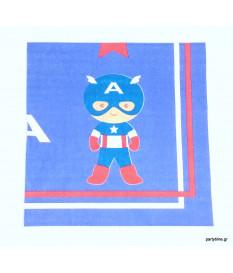 Χαρτοπετσέτες Captain America